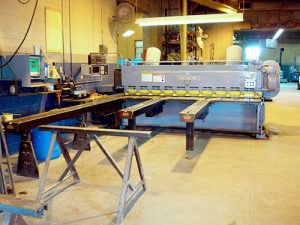 Schoonover Industries Inc. | Services: Metal Shearing