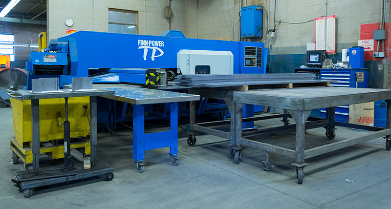 Schoonover Industries Inc. | Equipment: Finn-Power Turret Press